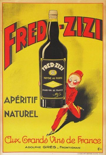 FRED ZIZI APERITIF