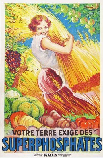Superphosphates poster