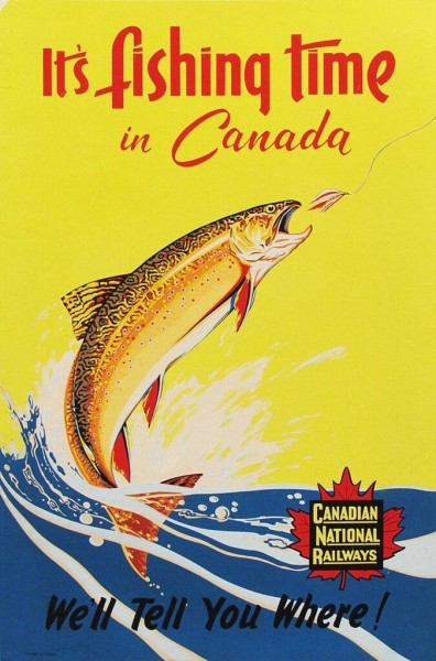 It's Fishing Time In Canada
