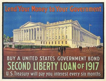 Lend Your Money, Second Liberty Loan Poster