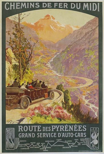Route Des Pyrenees