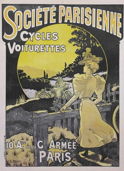 art noveau poster