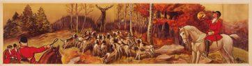 Hunting Panel Hallali