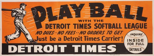 Play Ball Detroit Times