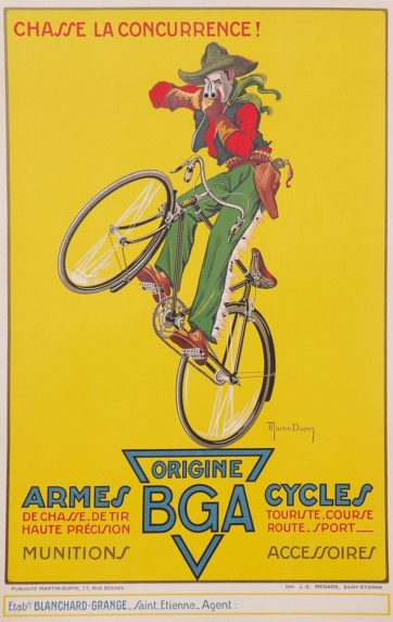 BGA Cycles and Arms
