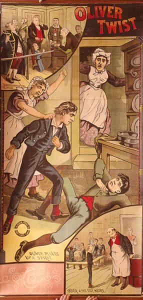 "Oliver Twist ""plucks up a spirit"""