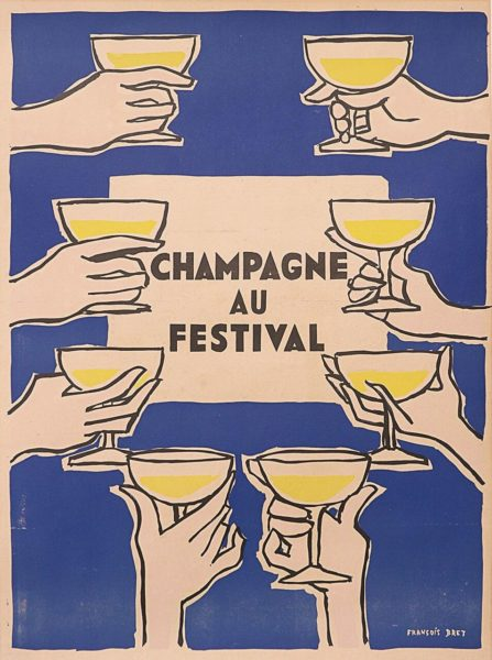 champagne au festival