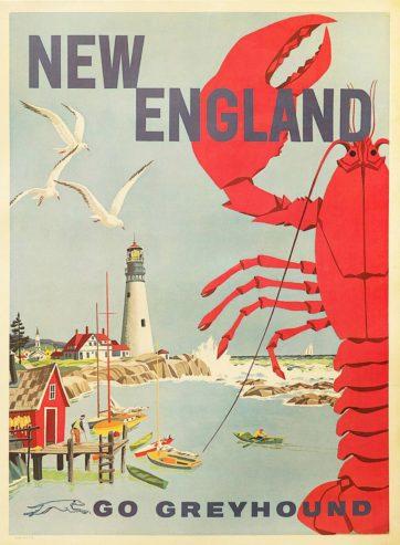 New England Go Greyhound (Lobster)
