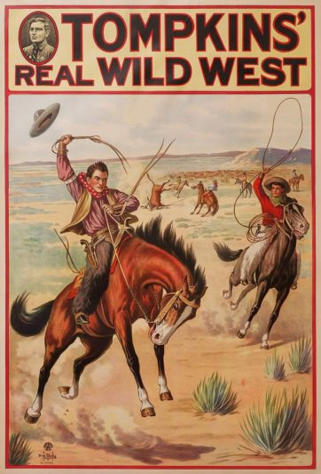 Tompkin's Real Wild West ( vertical)