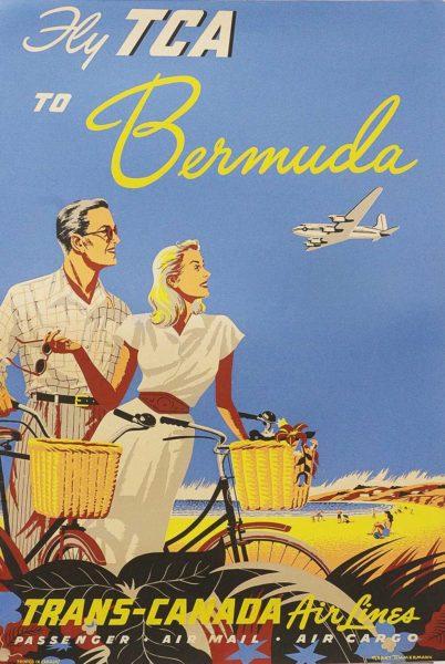 Fly TCA to Bermuda