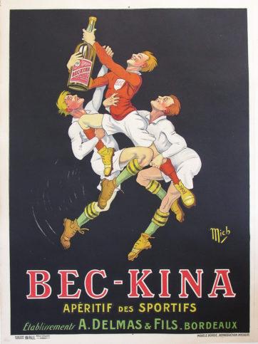 original Mich bec kina poster