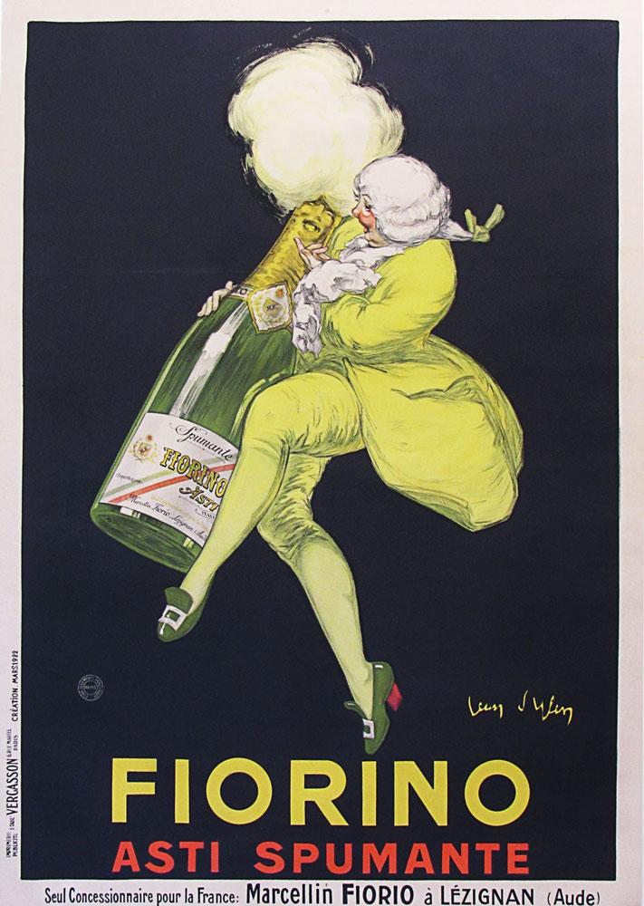 Original Jean D'ylen poster Fiorino Asti Spumanti