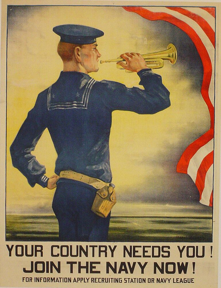 Join the Navy Now,1917