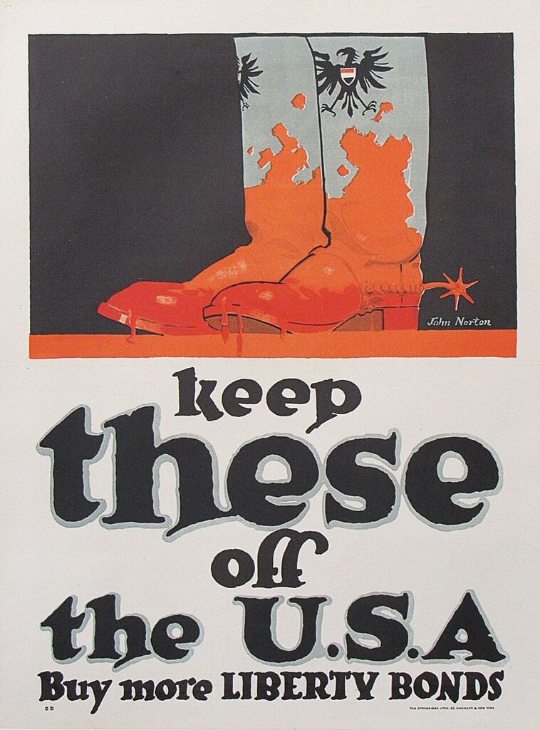WW1 bond poster