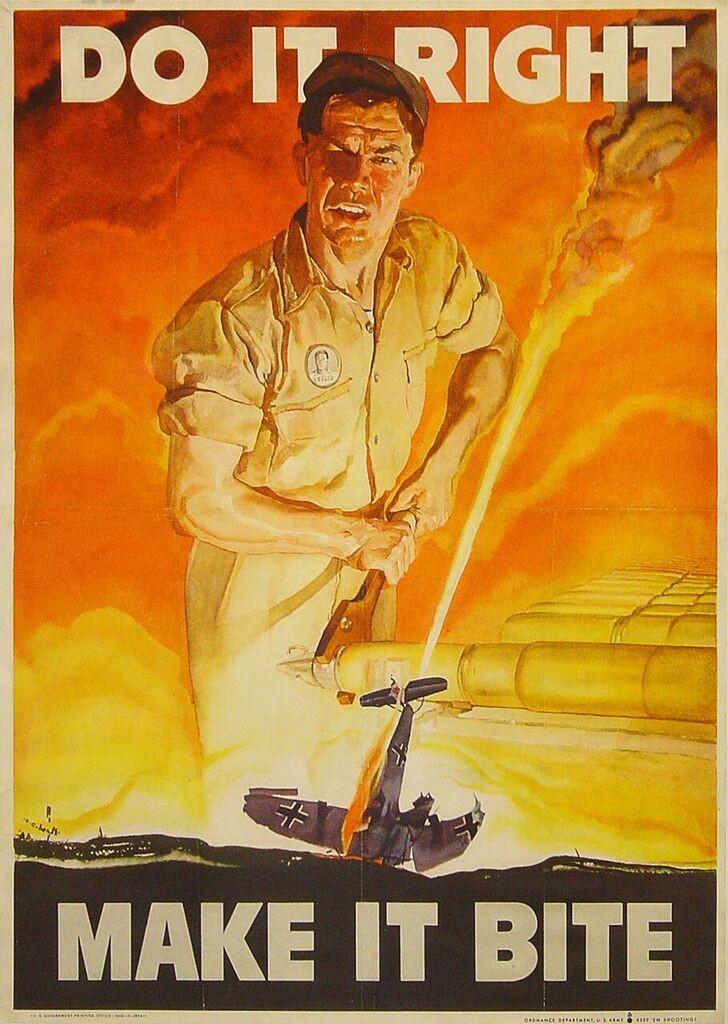 WW2 poster