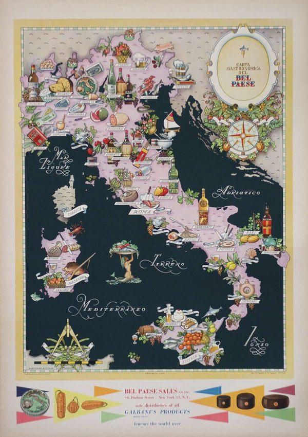 Alemagna Map