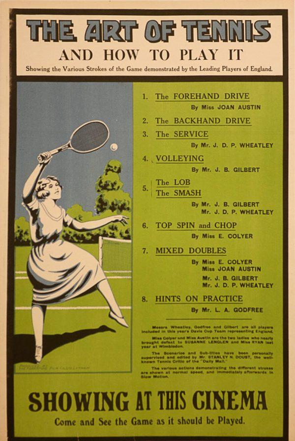 The Art Of Tennis