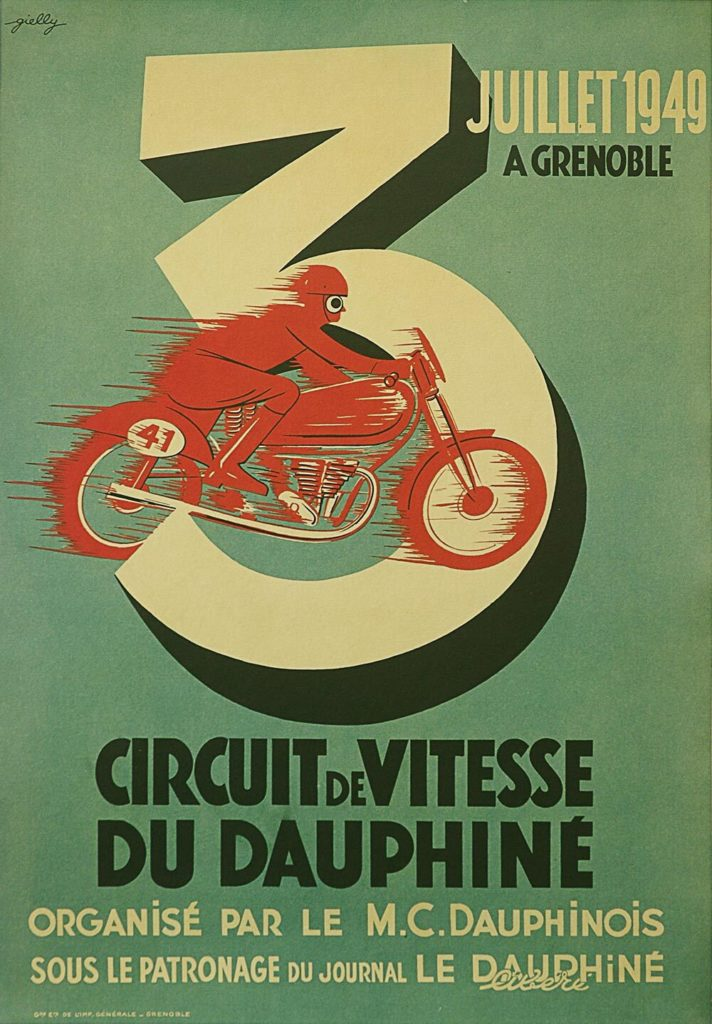 Motorcycle poster
