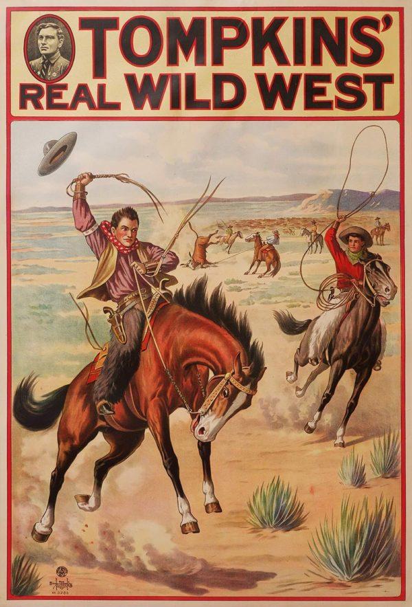 Tompkin's Real Wild West ( vertical)