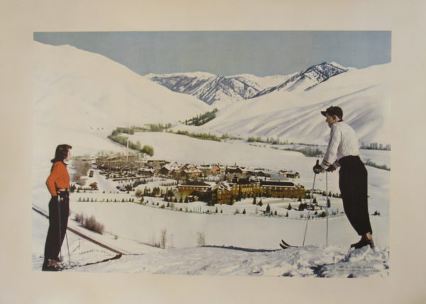 Sun Valley Two Skiers