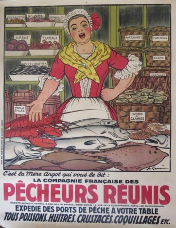 Adrien Barrere Pecheurs Poster