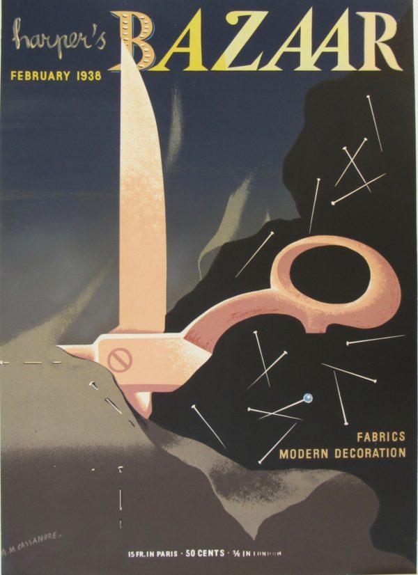 Harper's Bazaar Cassandre 1938