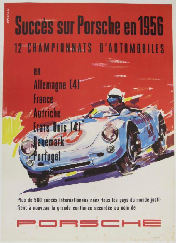 Succes Sur Porsche 1954