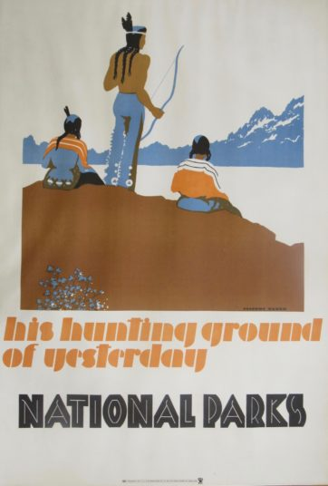 National parks poster Dorthy Waugh