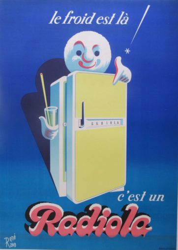 mid century poster