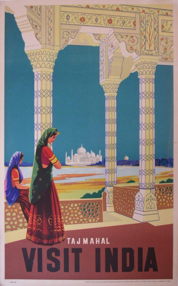 Visit India -Taj Mahal