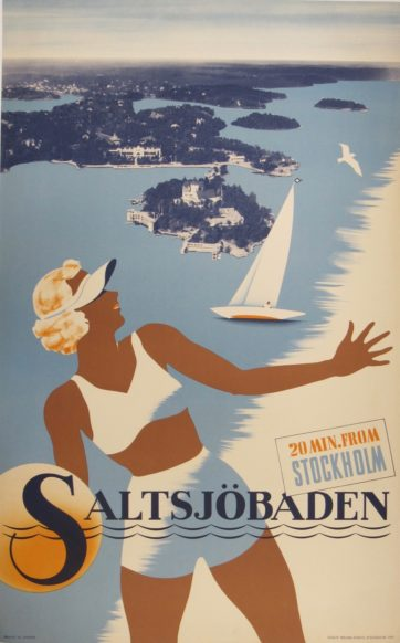 Swedish Travel Poster