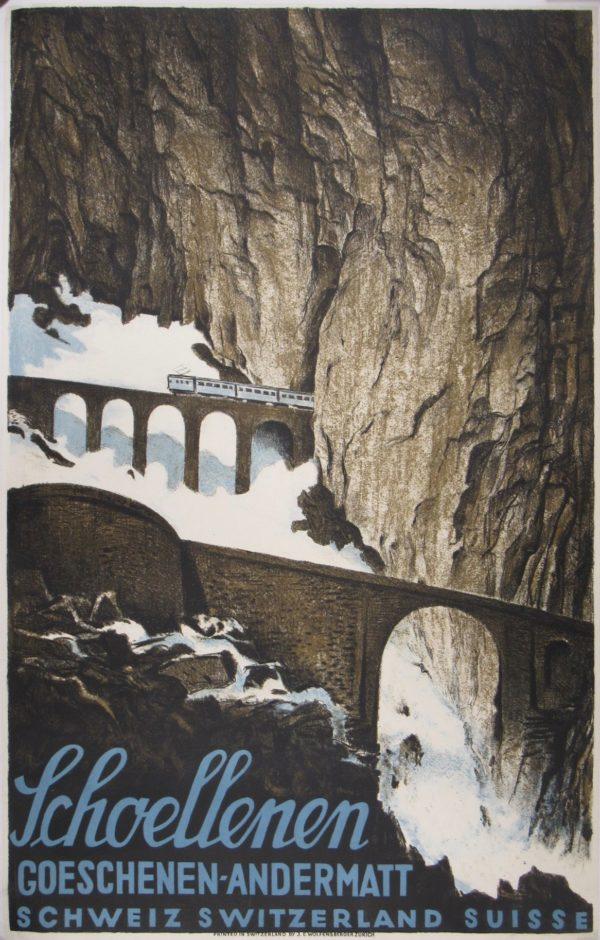 Swiss Alps Poster