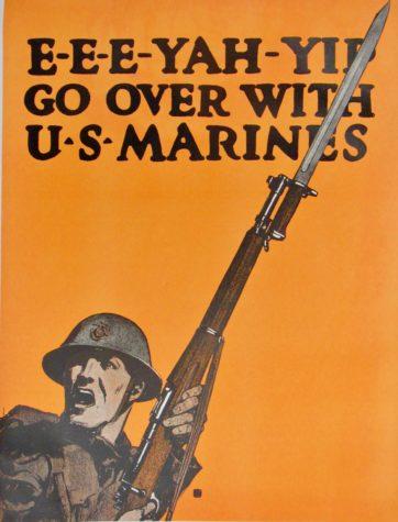 Marines WW1 Poster